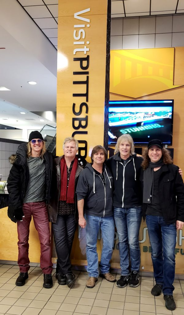 The hits of boston & styx in Pittsburgh, PA